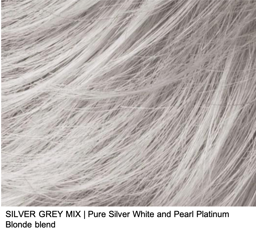 SILVER GREY MIX | Pure Silver White and Pearl Platinum Blonde blend