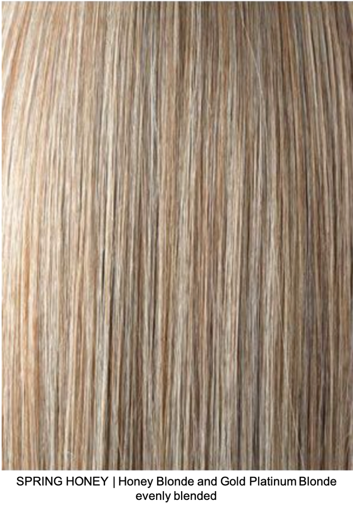 SPRING HONEY | Honey Blonde and Gold Platinum Blonde evenly blended