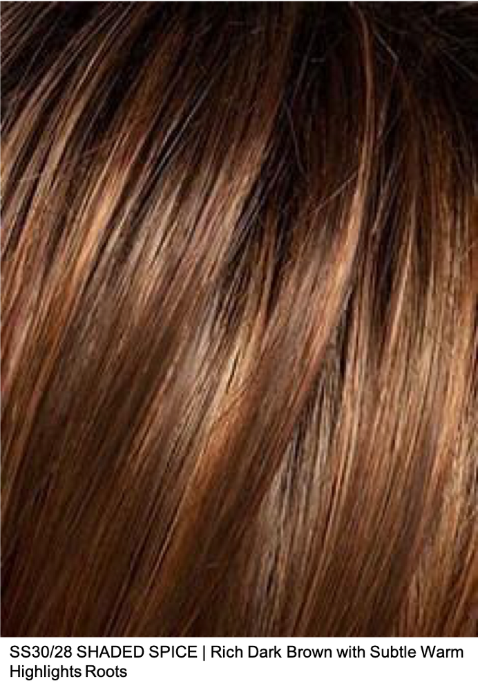 SS30/28 SHADED SPICE | Rich Dark Brown with Subtle Warm Highlights Roots