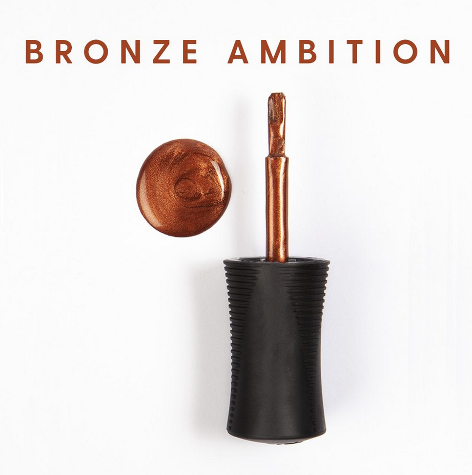 Bronze Ambition Breathable Nail Lacquer by Orly, 0.6floz