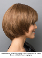 SHANNON by RENE OF PARIS | LIGHT CHOCOLATE | Light Brown with Light Auburn highlights