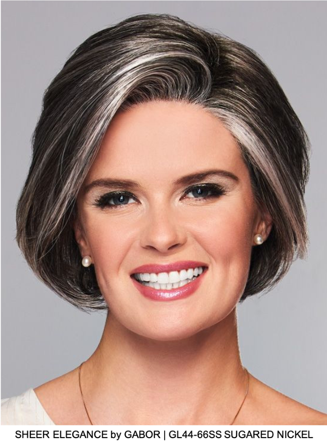 Sheer Elegance Synthetic Lace Front Wig (Basic Cap)