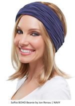 Softie Boho Beanie by Jon Renau | Navy