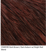 STARFIRE | Dark Brown/Dark Auburn w/ Bright Red Blend
