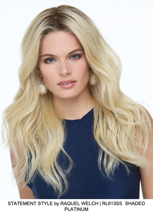 Statement Style Synthetic Lace Front Wig (Hand-Tied)