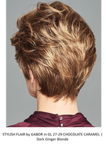 STYLISH FLAIR by GABOR in GL 27-29 CHOCOLATE CARAMEL | Dark Ginger Blonde