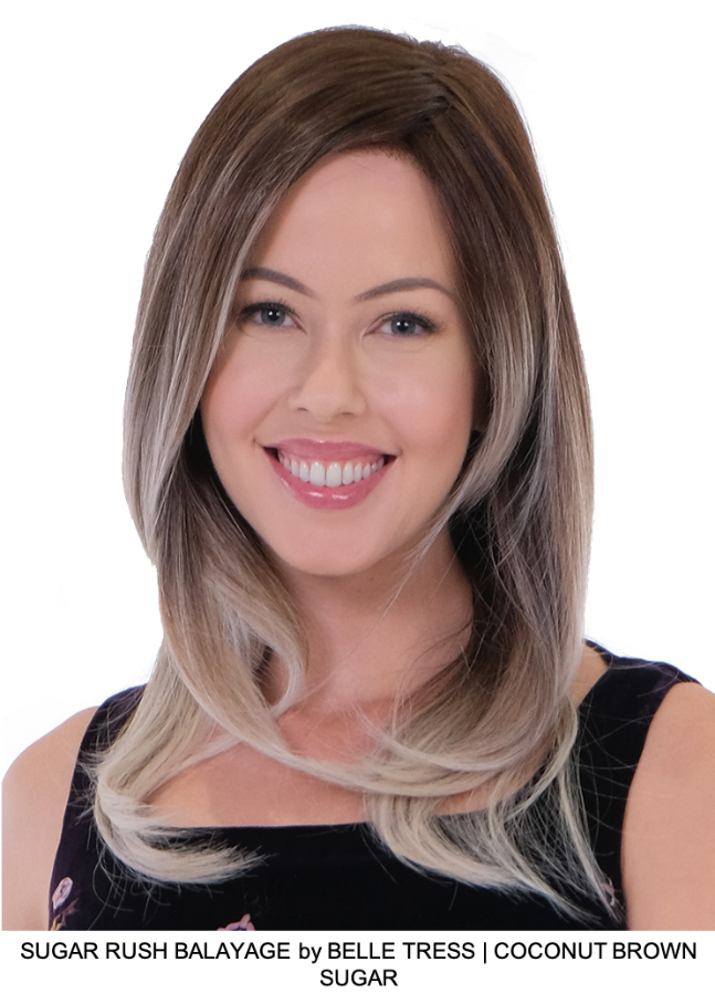 Sugar Rush Balayage Synthetic Lace Front Wig
