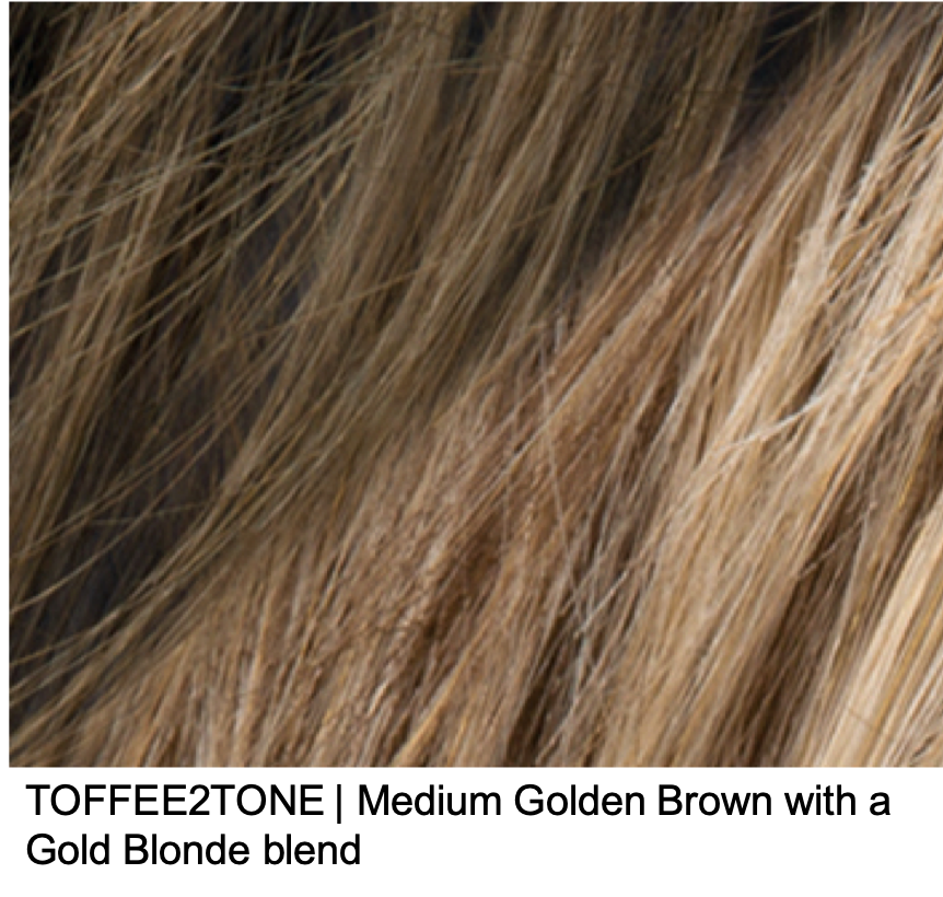 TOFFEE2TONE | Medium Golden Brown with a Gold Blonde blend
