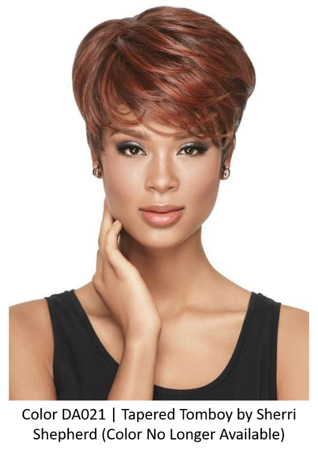 Tapered Tomboy Synthetic Wig (Basic Cap) | DISCONTINUED