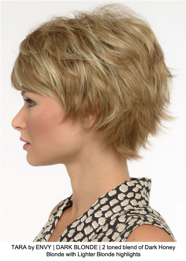 TARA by ENVY | DARK BLONDE | 2 toned blend of Dark Honey Blonde with Lighter Blonde highlights