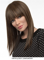 Taryn Human Hair / HF Synthetic Blend Wig (Mono Top)