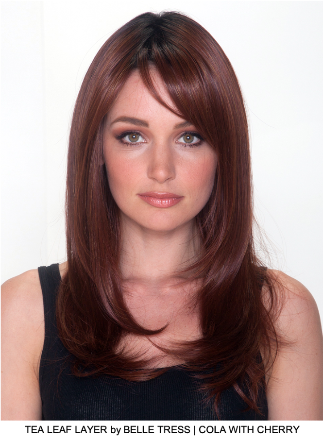 Tea Leaf Layer Synthetic Lace Front Wig (Hand-Tied)
