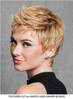 TEXTURED CUT by HAIRDO | SS25 GINGER BLONDE
