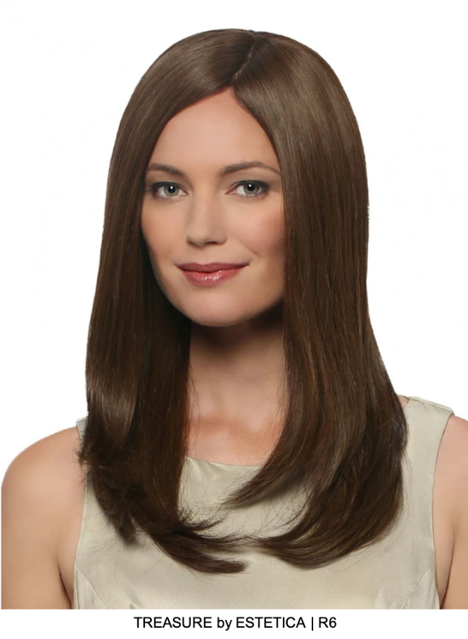 Treasure Remy Human Hair Wig (Mono Top)