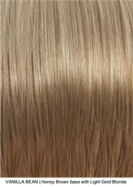 VANILLA BEAN | Honey Brown base with Light Gold Blonde