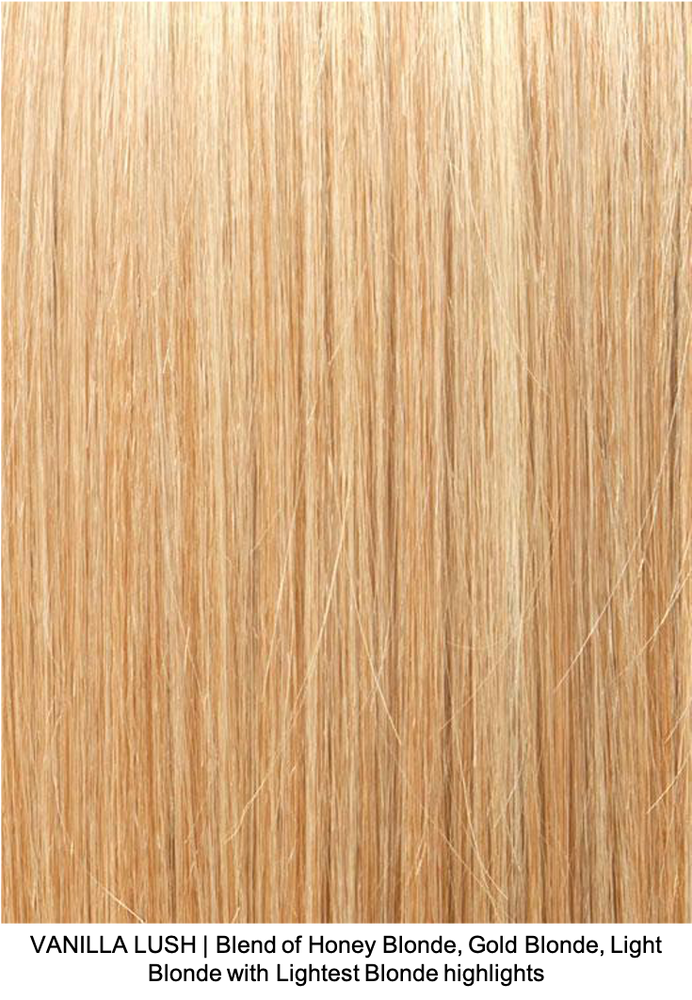 VANILLA LUSH | Blend of Honey Blonde, Gold Blonde, Light Blonde with Lightest Blonde highlights