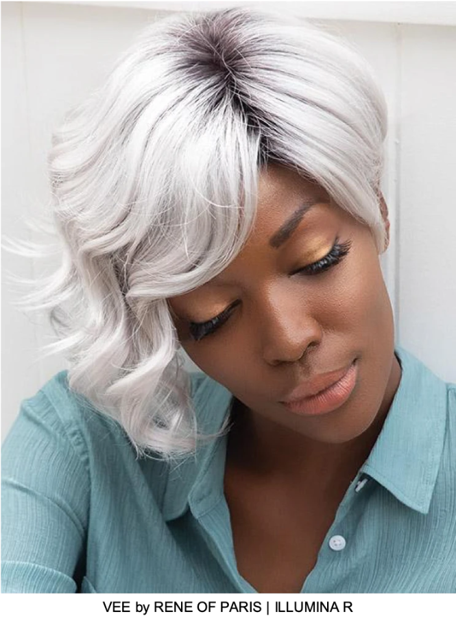 Vee Synthetic Wig (Mono Top)