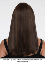 VERONICA by ENVY | MEDIUM BROWN | Medium Brown with natural highlights