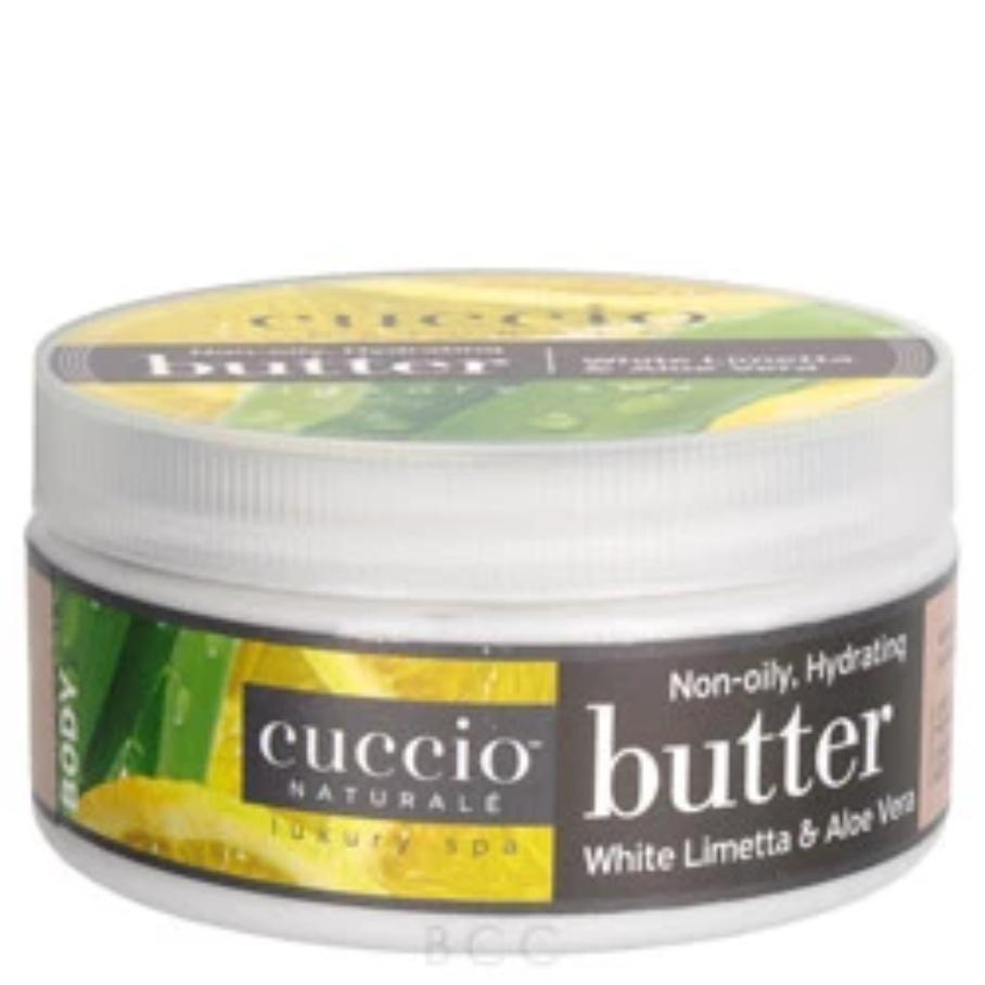 White Limetta & Aloe Butter Blend by Cuccio Naturale, 8oz
