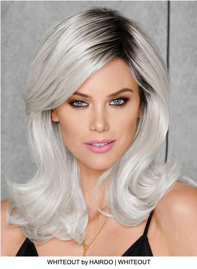 Whiteout HF Synthetic Wig (Basic Cap)