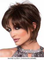 Whitney Human Hair / HF Synthetic Blend Wig (Capless)