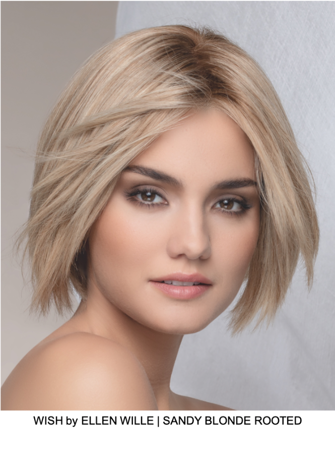 WISH by ELLEN WILLE | SANDY BLONDE ROOTED