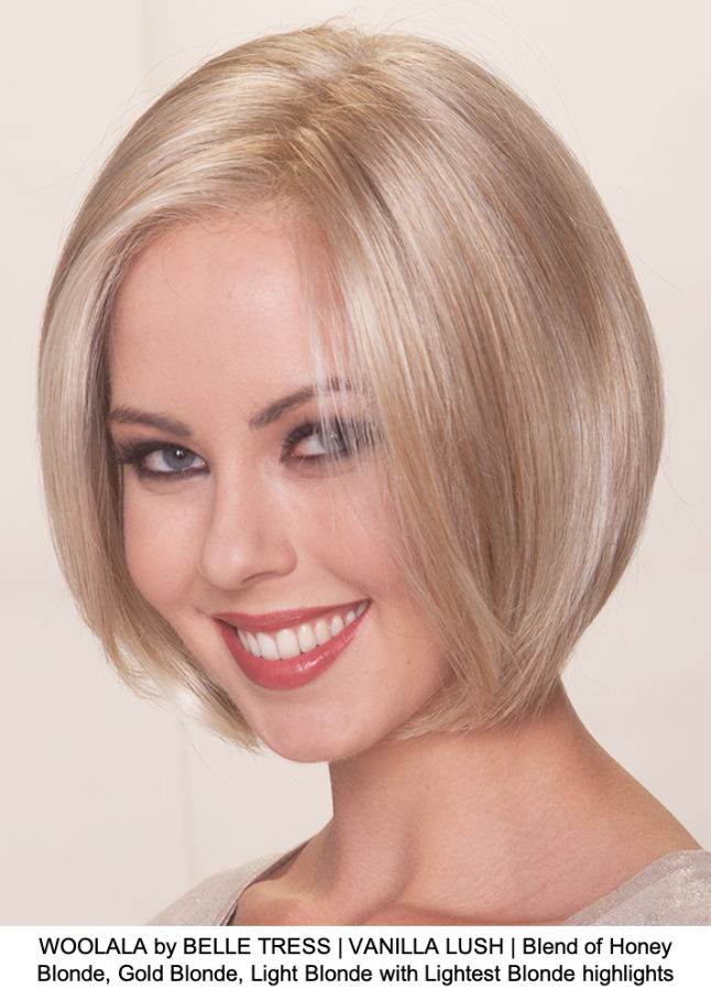 WOOLALA by BELLE TRESS | VANILLA LUSH | Blend of Honey Blonde, Gold Blonde, Light Blonde with Lightest Blonde highlights