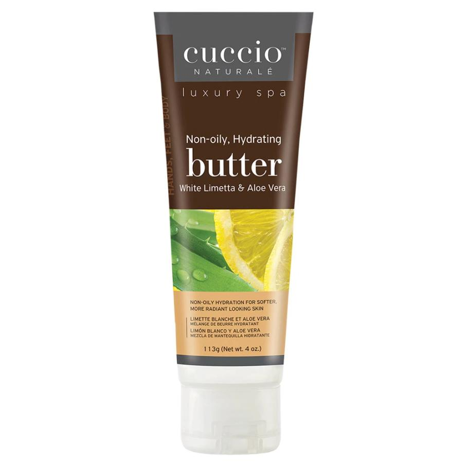 White Limetta & Aloe Butter Blend by Cuccio Naturale, 4oz