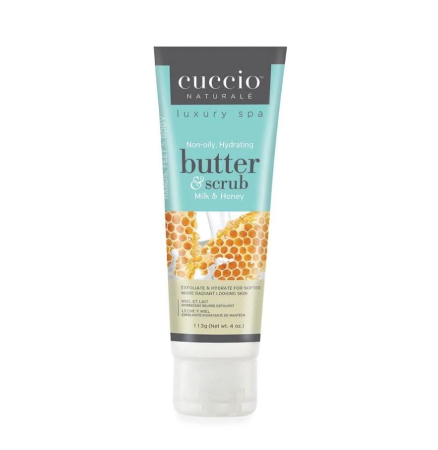 Milk & Honey Butter & Scrub by Cuccio Naturale, 4oz