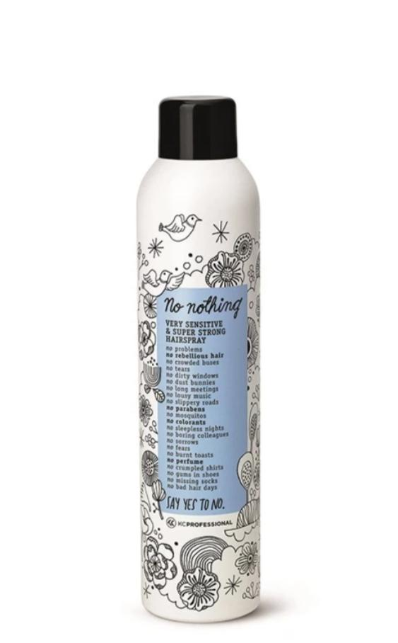 No nothing Very Sensitive Super Strong Hairspray