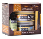 Spa to Go Milk & Honey 4pc Kit