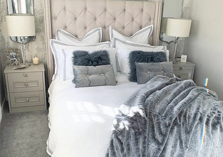 Shop and style our Berkeley Bedding with Lydia from @home.ideology!