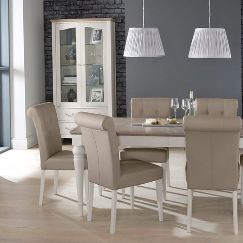 Dieppe Grey Washed Oak Dining Range