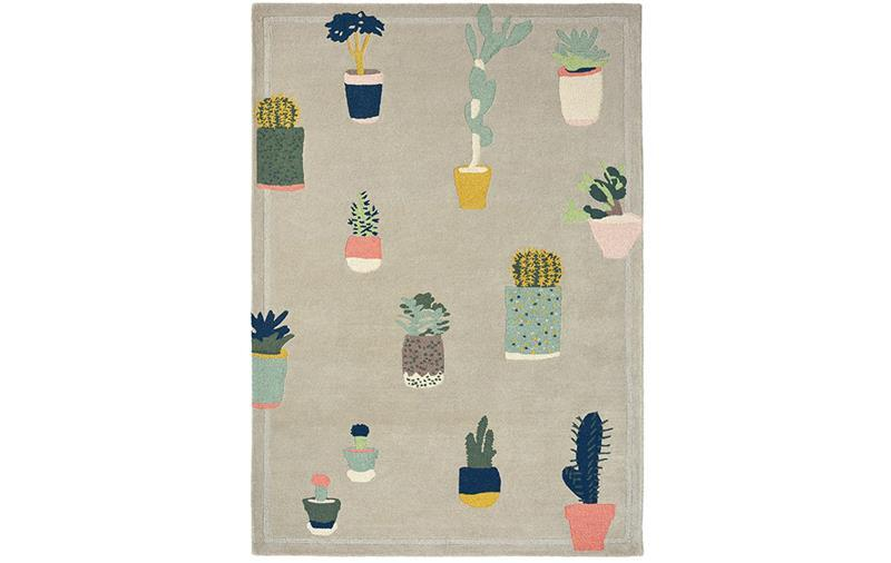 TED BAKER CACTUS RUG