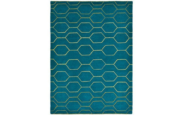 WEDGWOOD ARRIS TEAL RUG