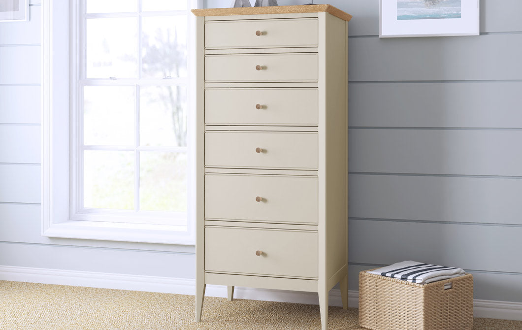 Hancock 6 Drawer Tall Chest