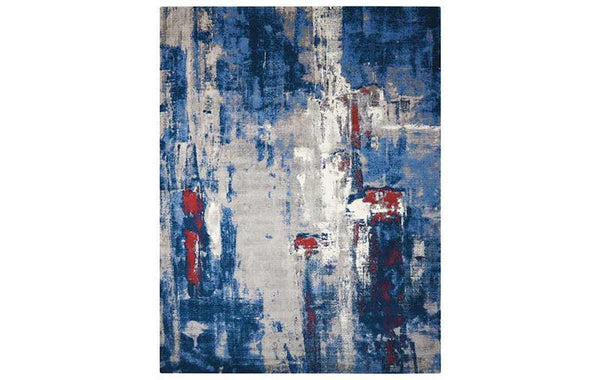 TWILIGHT GREY BLUE RUG
