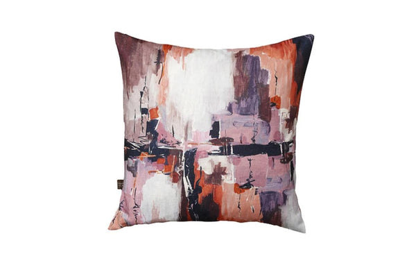 Abstract Purple Cushion