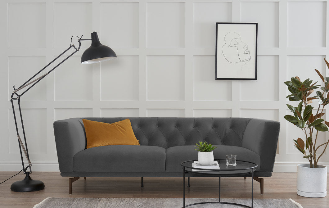 Abode Allure 3 Seater Sofa