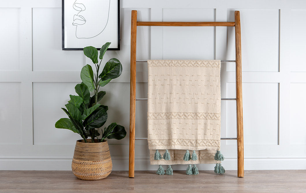 Boho 130 x 180cm Seafoam Throw