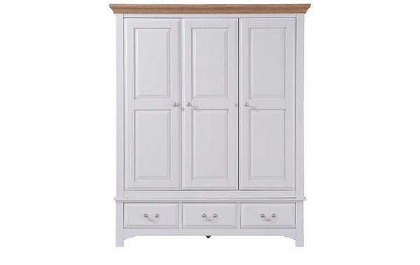 Chiltern Triple Wardrobe with Drawer