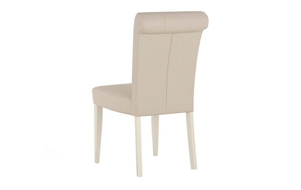 Dieppe Pale Oak Leather Chair
