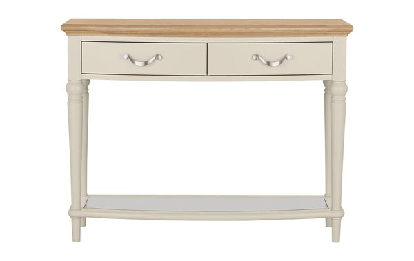 Dieppe Pale Oak Console Table