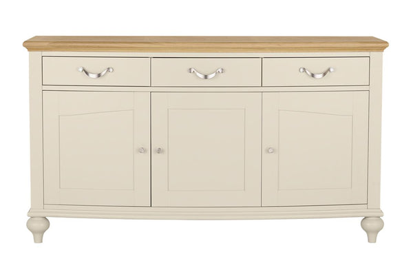 Dieppe Pale Oak Wide Sideboard