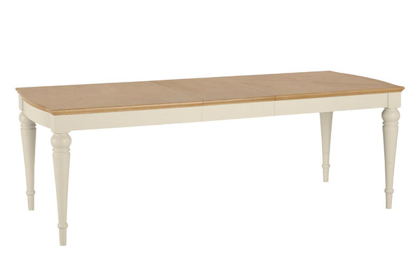 Dieppe Pale Oak Extending Dining Table