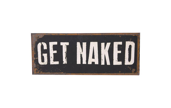 Get Naked Plaque