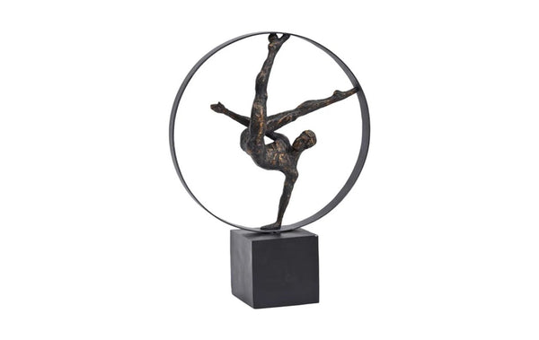 Male Gymnast Sculpture