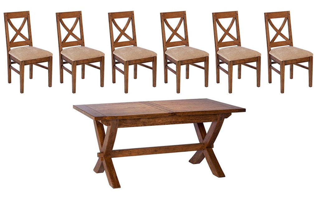 Manilla Dining Table + 6 Chairs