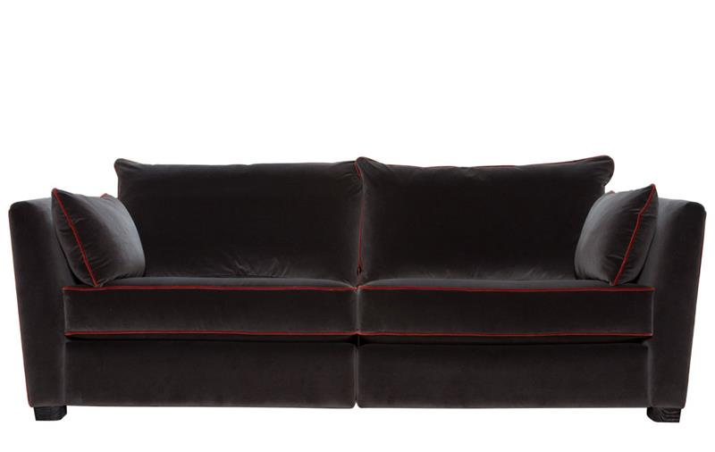 Collins and Hayes Maple Fixed Front Medium Sofa