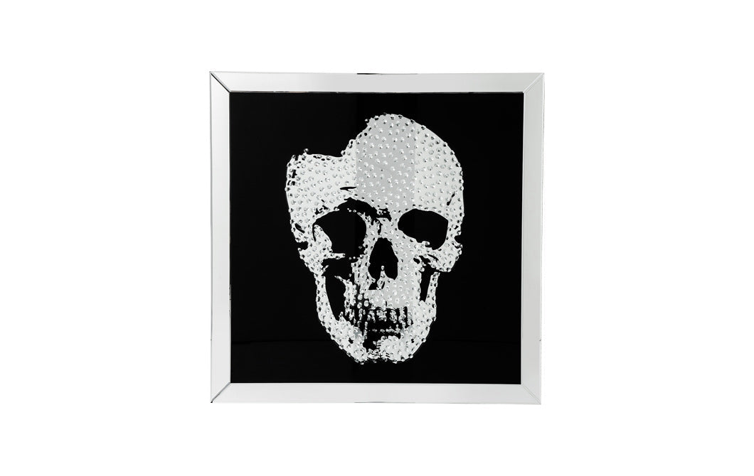 Skull Mirrored Picture